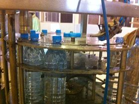 Water packaging line