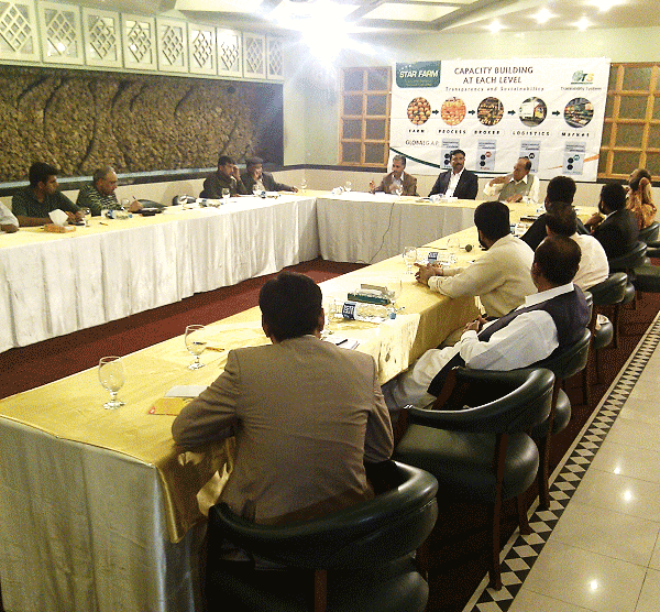 Kinnow Stakeholders meeting at Sargodha