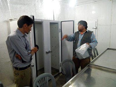 Visit of Cherry and Apricot Production Facility