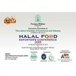 Card of Halal Meat Exporters Confrence