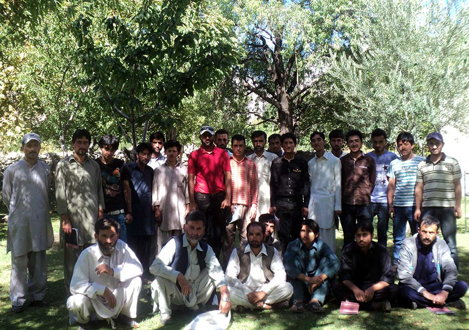 Group of Trainees at World Roof Golden Fruits Association
