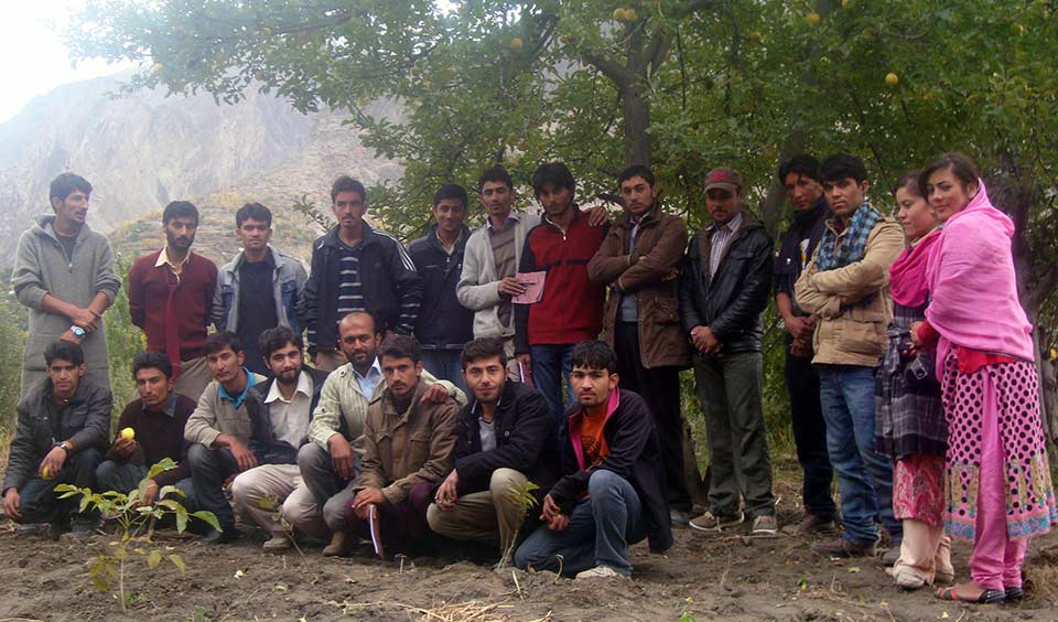 Group of Trainees of Ganish Youth Apple Association
