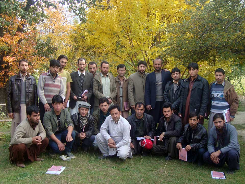 Group of trainees at Jafferabad Fruits & Dry Fruits Association