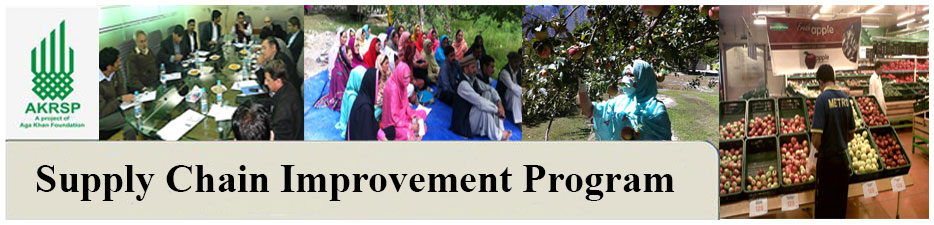 Supply Chain Improvement Program Banner