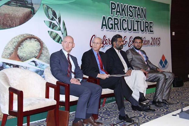 A Glimpse of Stage at Pakistan Agriculture Conference and Exhibition 2015