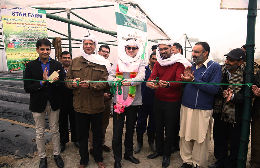 Directors of Star Farm Pakistan are inaugurating The Farm